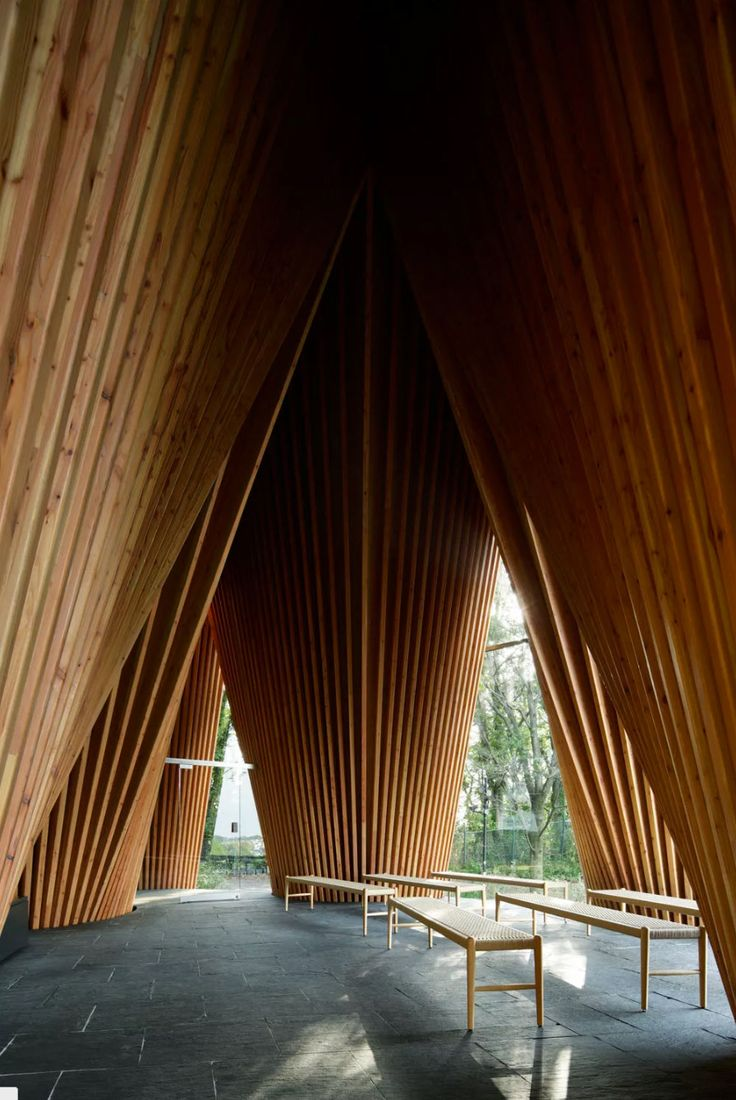 Sayama Forest Chapel by Hiroshi Nakamura & NAP | http://www.yellowtrace.com.au/sayama-forest-chapel-by-hiroshi-nakamura-and-nap/
