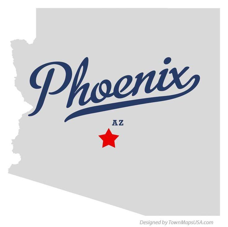 Die Besten 20 Map Of Phoenix Arizona Ideen Auf Pinterest Sedona