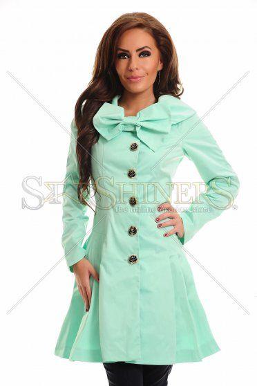 LaDonna Sweet Burden Turquoise Trechcoat