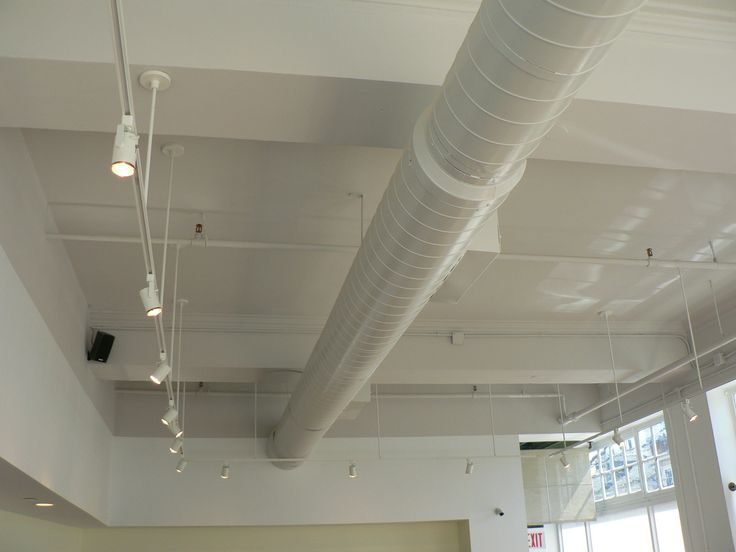 maybe we paint out the duct work as well and go with the white track beautiful home depot track lighting lighting