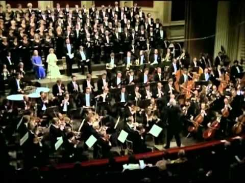 Ludwig van Beethoven - Symphony No. 9 in D minor, Op. 125, 4th mvmt.  The Vienna Philharmonic Orchestra & Chorus, Leonard Bernstein.