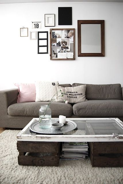 Very eclectic. Subtle but with a hint of masculinity. Are those reclaimed items we see as well? #interior #design