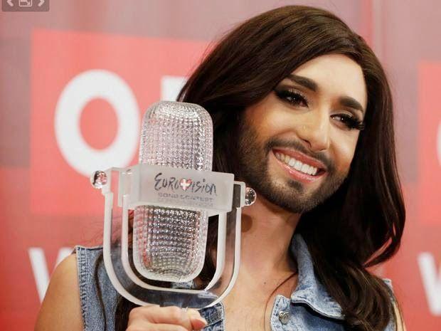 La Caja de Pandora: Una travesti barbuda ganó el certamen de canto Eur...
