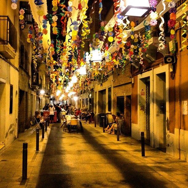 Festa major de Gracia, Barcelona