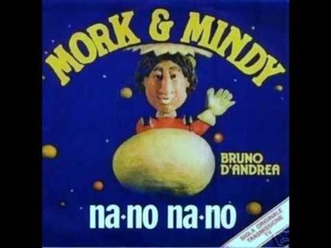 [American sitcom] Mork & Mindy   Intalian song: Na-no Na-No  Singer: Bruno D'Andrea