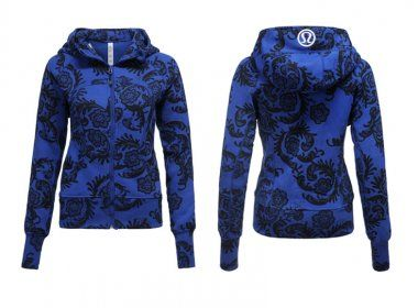 Lululemon Yoga Scuba Hoodie Blue Flower : Lululemon Outlet Online, Lululemon outlet store online,100% quality guarantee,yoga cloting on sale,Lululemon Outlet sale with 70% discount!$59.69