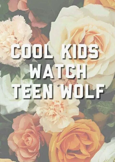 COOL KIDS WATCH TEEN WOLF
