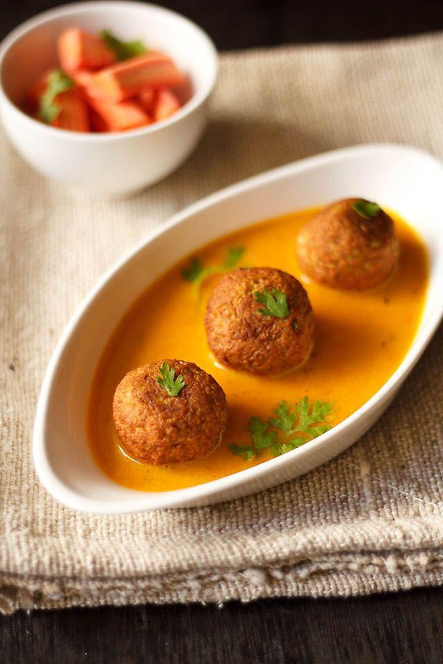 lauki kofta curry - how to make lauki kofta | step by step recipe