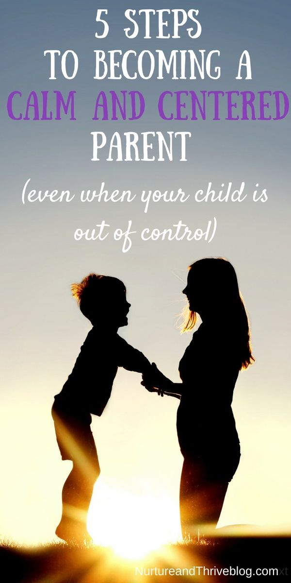 How to be a Calm Parent Even When Your Kids are Out of Control – Kori at Home