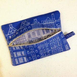 Linda Robertus: Another zippered pencil case