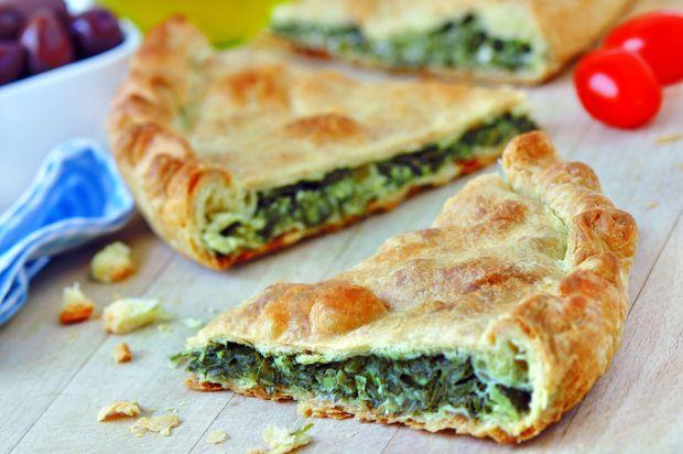 spanakopita traditional greek pie