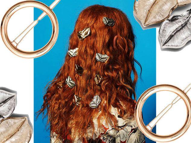 """""""Her hair was like fire"""" / Fermagli di Zara"""