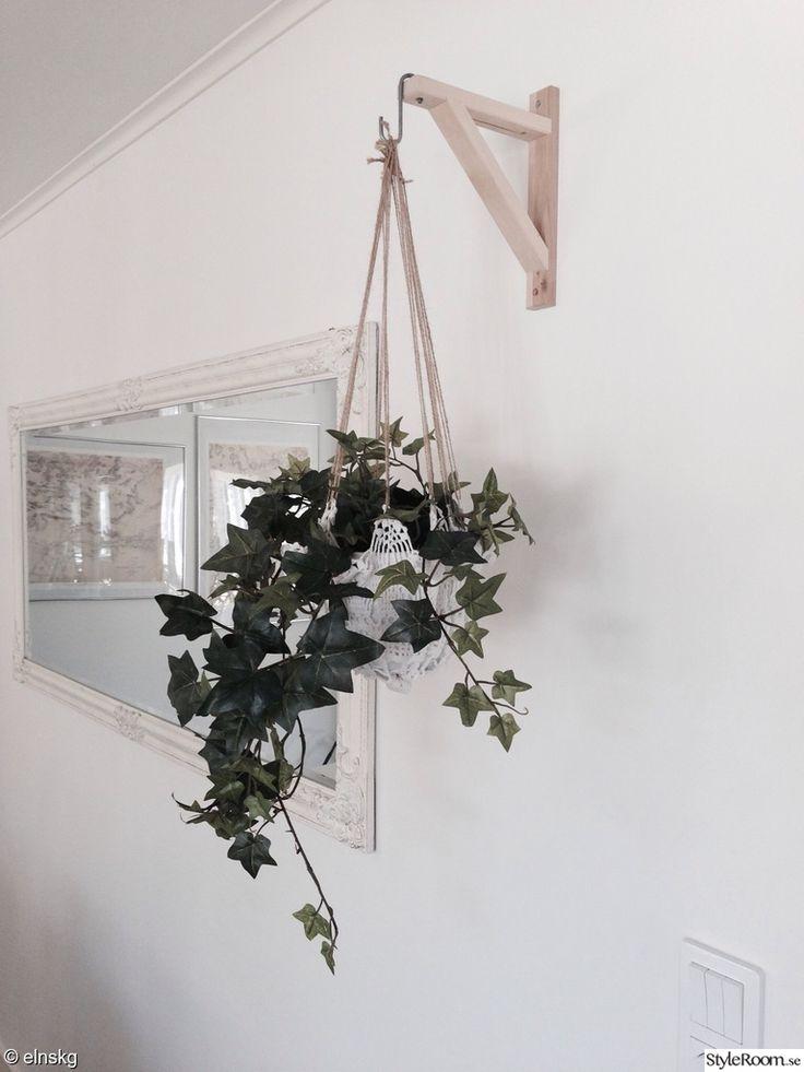 krukväxt,ampel,diy,väggprydnad,blommor,blomampel,amplar