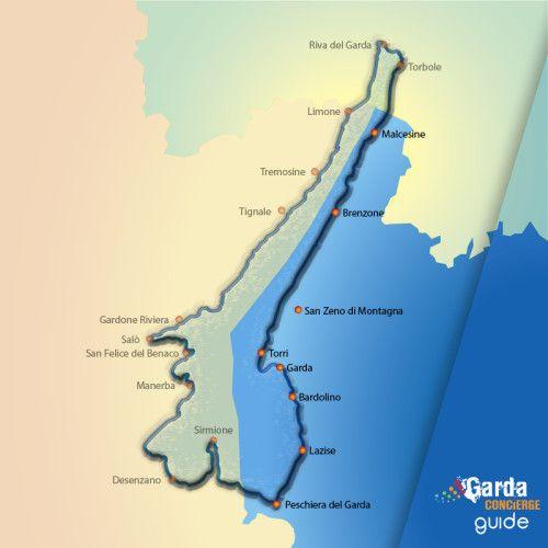 GardaConcierge vi accompagna in un viaggio in bici lungo gli Itinerari del Lago di Garda Veneto. @gardaconcierge