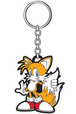 Sonic - The Hedgehog Rubber Keychain Tails