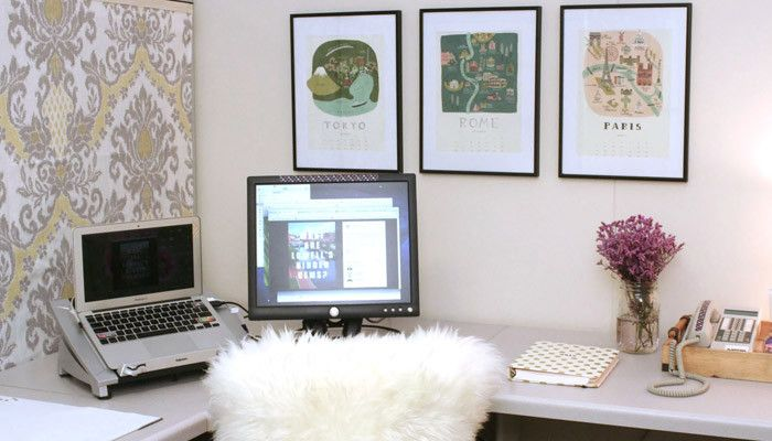 How To Decorate Your Office Wayfair This Is A Cubicle