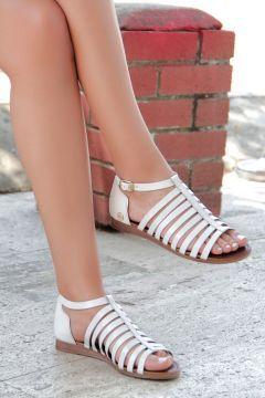 Shoes Time Beyaz Kadın Sandalet 07 1265 https://modasto.com/shoes-ve-time/kadin-ayakkabi-sandalet/br2318ct19