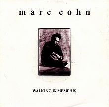 """May 15th, 2013: """"Walking in Memphis"""" is a song by American singer-songwriter Marc Cohn, from his self-titled 1991 album. The song became Cohn's biggest hit, peaking at #13 on the Billboard Hot 100 and, after being re-released in autumn 1991, reached #22 on the UK chart. The popularity of this song helped Cohn win the Grammy for Best New Artist in 1992."""