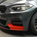 What a little paint can do: BMW Abu Dhabi Motors shows us a BMW M235i Coupe with M Performance Parts with some red accents.