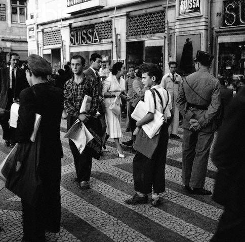 Ardinas no Rossio, 1951