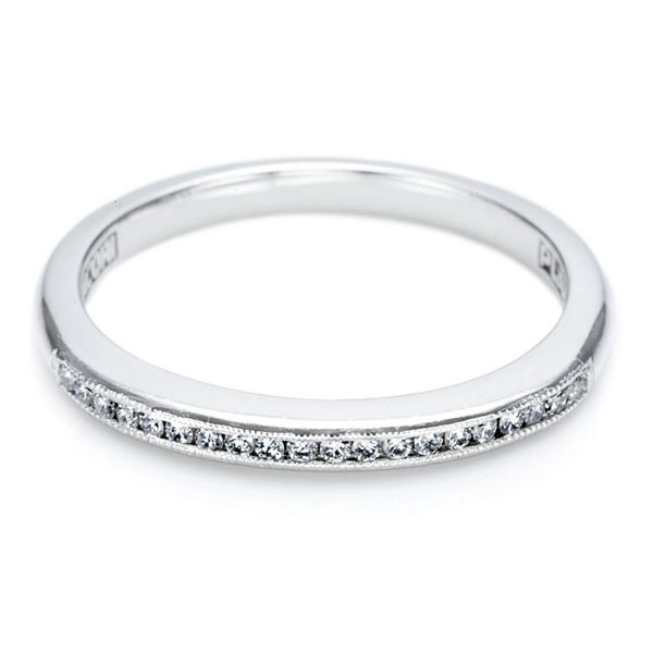Elegant Tacori CH Wedding Ring This mm Simply Tacori Collection Channel Set diamond ring features delicate
