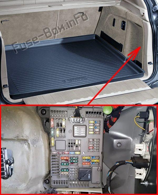 Fuse Box Diagram Bmw X5 E70 2007 2013 Bmw X5 E70 Bmw X5 Fuse Box
