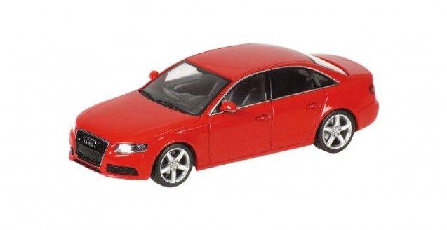 Audi A4 2007 Red Minichamps 400017000