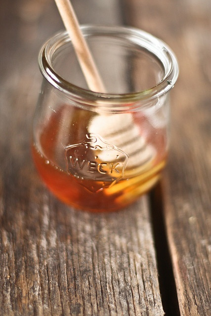 Honey in Weck || oh, honey honey. by hannah * honey  jam, via Flickr