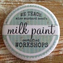 Wil jij ook meubels restylen maar ben je nog een beetje onzeker? Volg dan onze workshop en maak kennis met Miss Mustard Seed's Milk Paint.  Tijdens deze workshop leggen we je uit wat er mogelijk is met deze 100% natuurlijke verf en hoe je daarmee meubels een nieuw leven in kan blazen met een aantal verftechnieken.