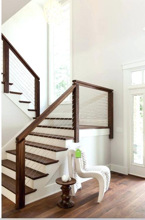 Modernes Treppengelander Interieur Treppe Treppe Haus Treppe
