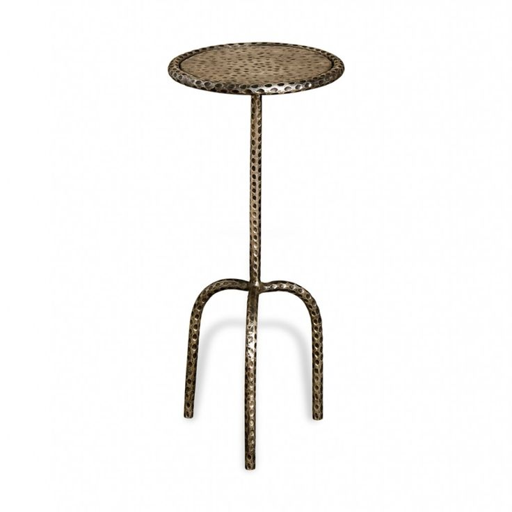 Agoura Side Table it's slim with interesting details
