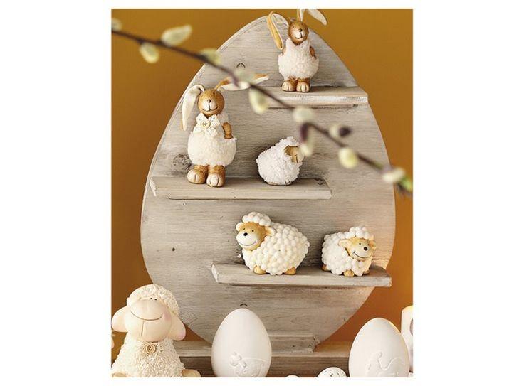 Met ons sloophouten paasei haal jij de paassfeer in huis! Het ei heeft een aantal plankjes, waarop je al je paasdecoratie kwijt kan. Niet alleen leuk, maar ook nog handig!