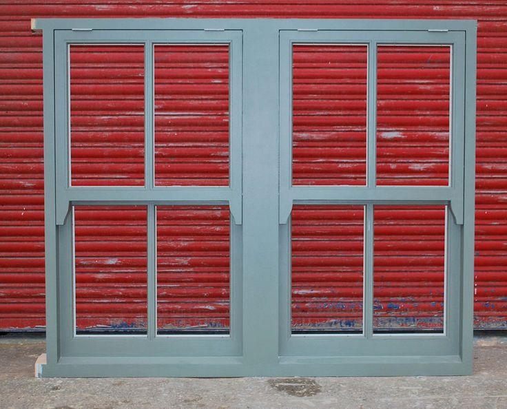 Double Hardwood Mock Sash window - imitates box sash window!!! Bespoke!!!