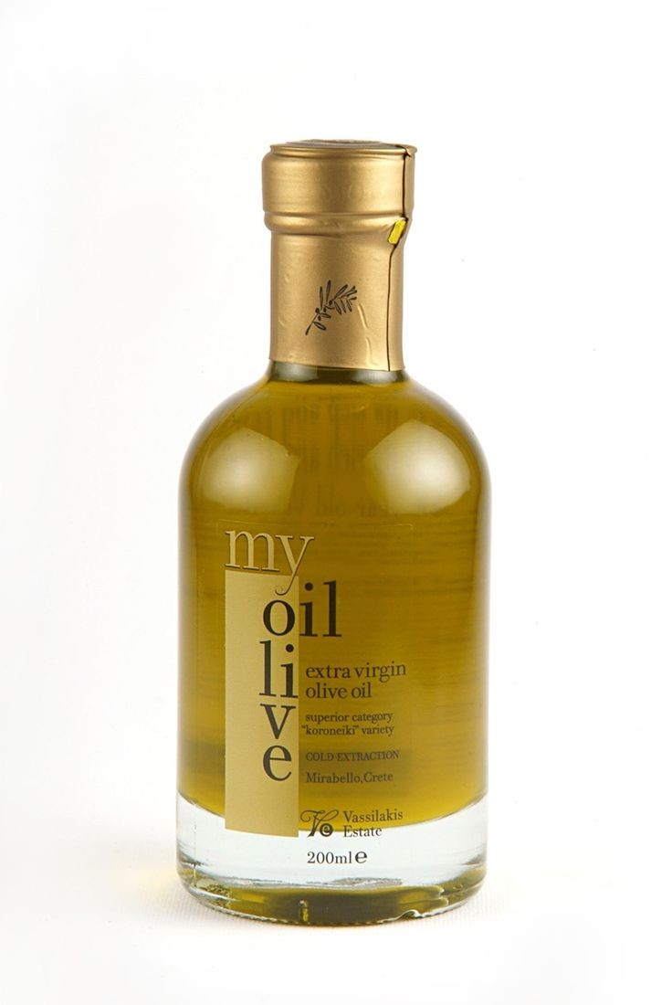 My Olive Oil. From Crete, Greece.  Beautiful. The gold really sets off the green of the oil IMPDO.
