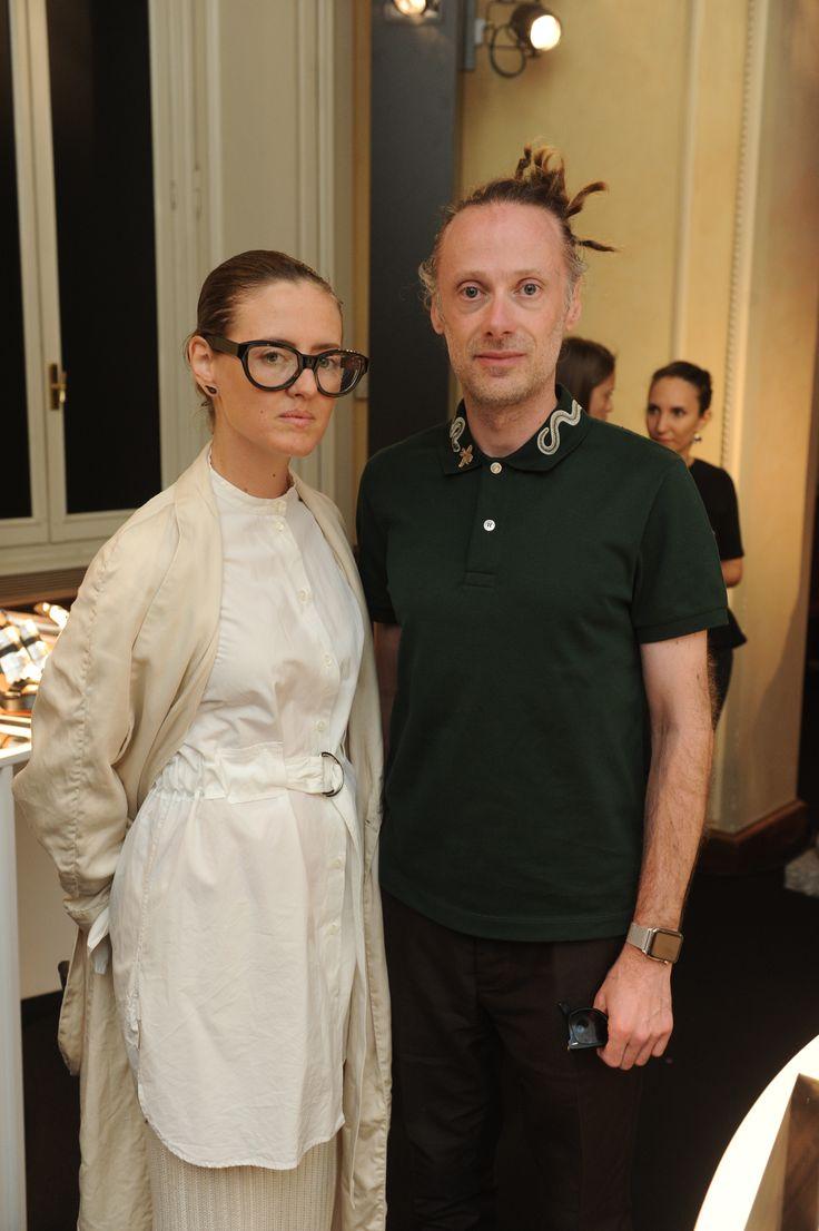 Tanya Jones, Gianluca Cantaro #Santoni4Women #Santoni #SantoniShoes #MFW #Fashion #shoes