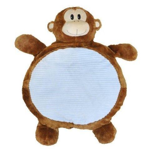 Plush Monkey Floor Pillow