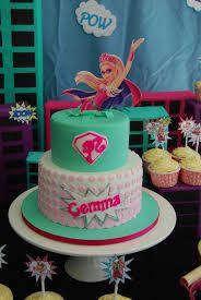 Resultado de imagen para torta barbie super princesa