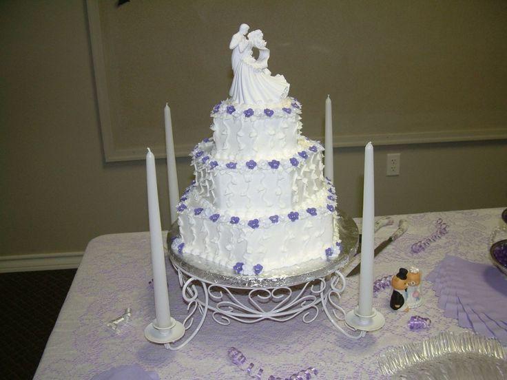 like the cake stand jh Hexagon wedding cake | Violet Hexagon Wedding Cake