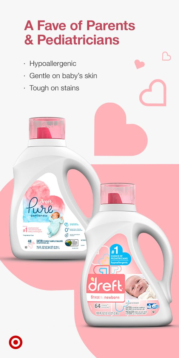 Dreft Newborn Liquid Detergent Is The 1 Pediatrician Recommended Baby Detergent Its Hypoallergenic Formula Is D In 2020 With Images Baby Items Wash Scent