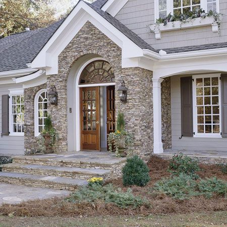 117 best home exterior stone siding images on pinterest for Austin stone siding