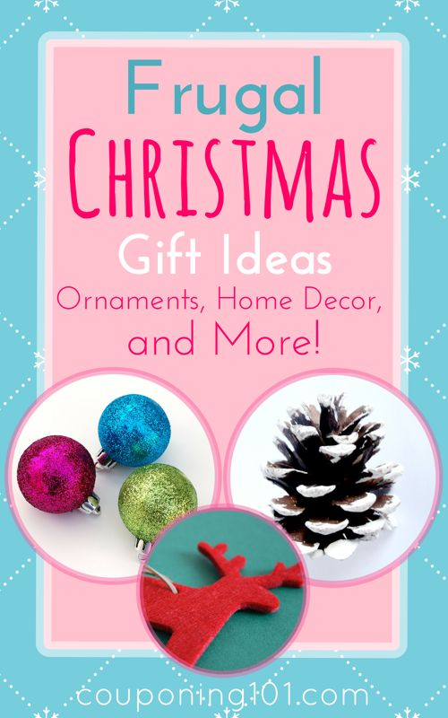 Christmas Frugal Tips Gift Ideas Ornaments Home Decor And More