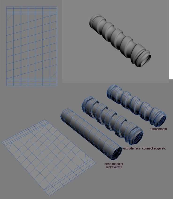 Modeling spirals and screws