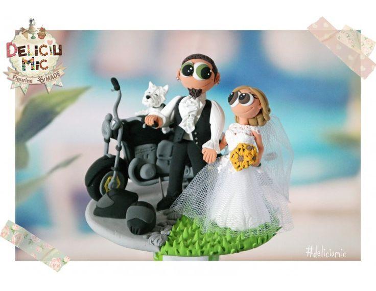Figurine personalizate pentru o nuntă ieșită din tipar