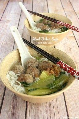 Kuah Bakso Sapi - Beef Balls Soup