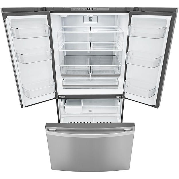 Kenmore Elite 74105 28 7 Cu Ft Smart French Door Refrigerator Active Finish Stainless Steel Tent Sale Trash Can Kenmore Elite