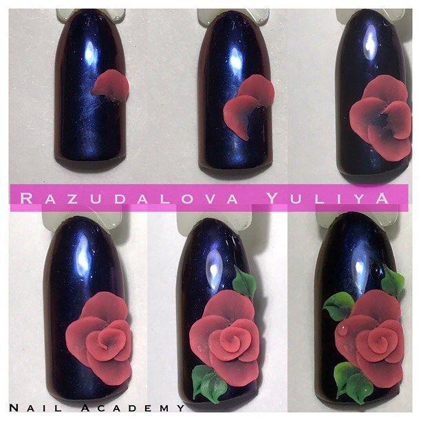 Rose Nail Art Acrylic Nails: 25+ Best Ideas About 3d Nails Art On Pinterest