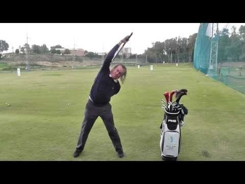 Miguel Angel Jimenez: Watch his unique warm-up routine- too bad he's not the sexiest man to learn from