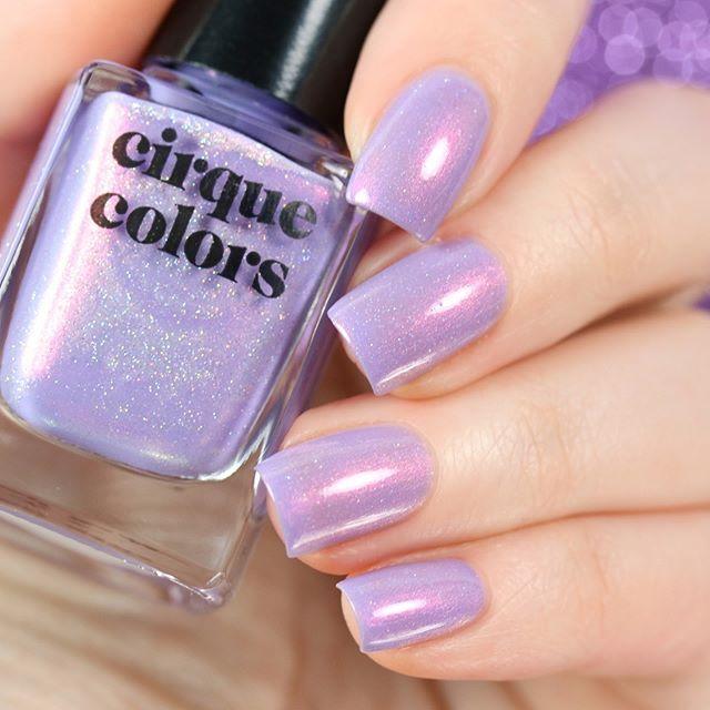 Cirque Colors Cloud Nine Nail Polish Purple Polish Nails