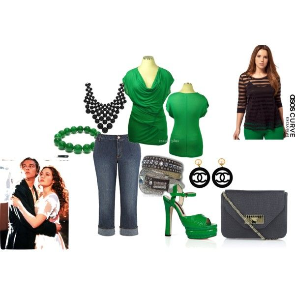 Big is beautiful., created by karena-woods on Polyvore