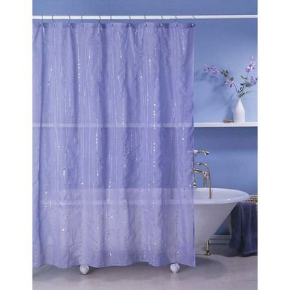 Glitter Square Shower Curtain